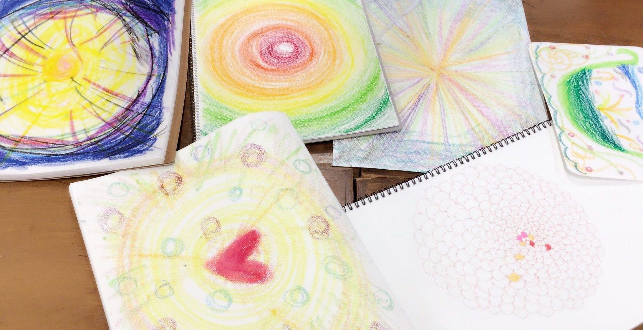 アートセラピー、絵で自分を表そう